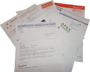 Debt Colection Letters