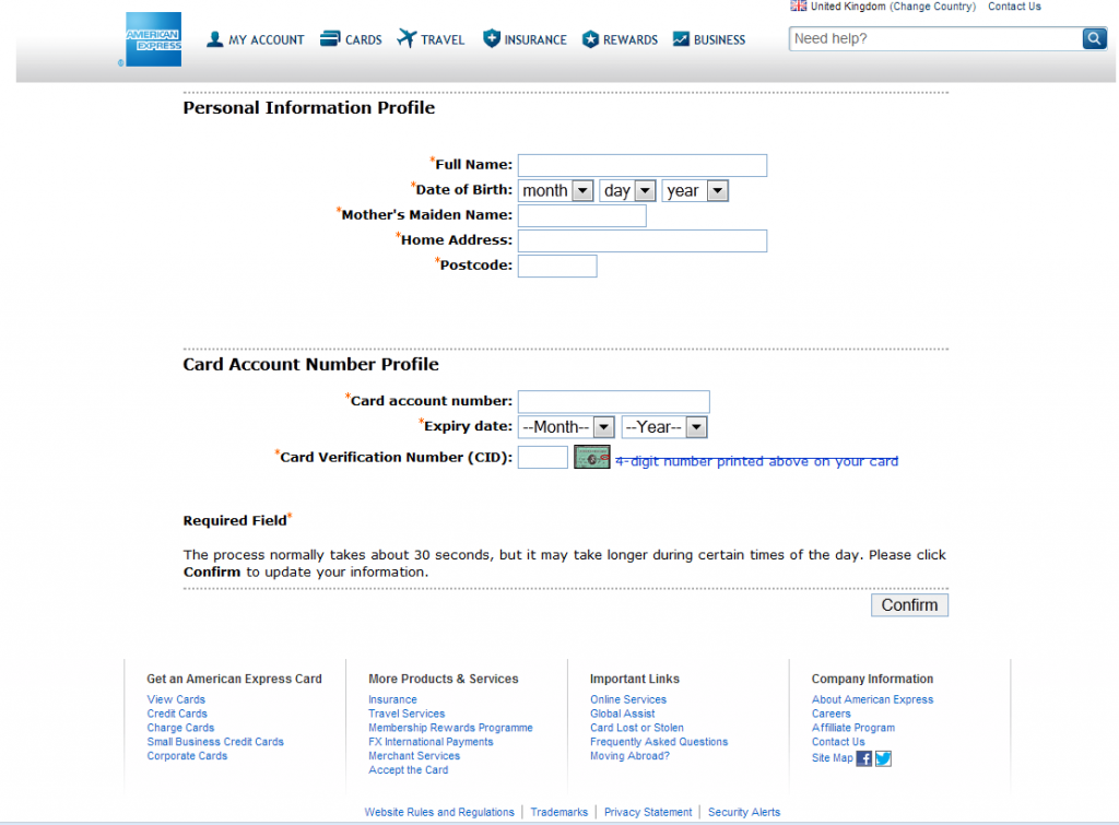 account card adult credit merchant rate