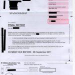 Wescot Important Final Notice Letter